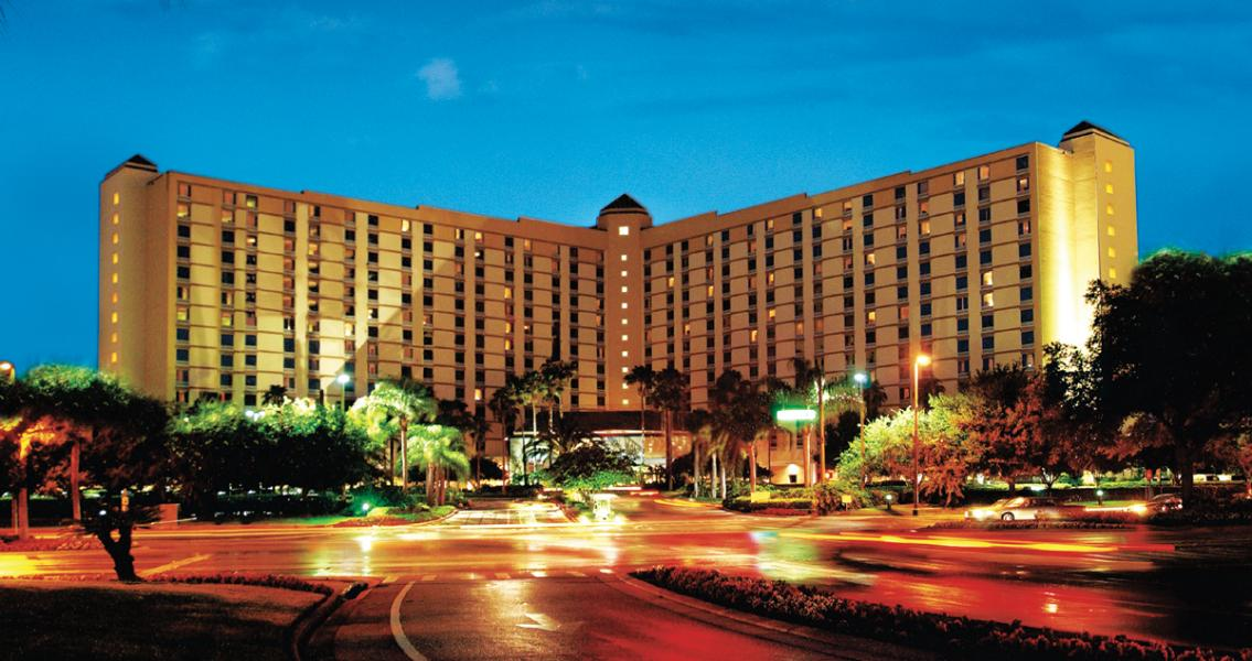 Rosen Plaza Night-time Exterior