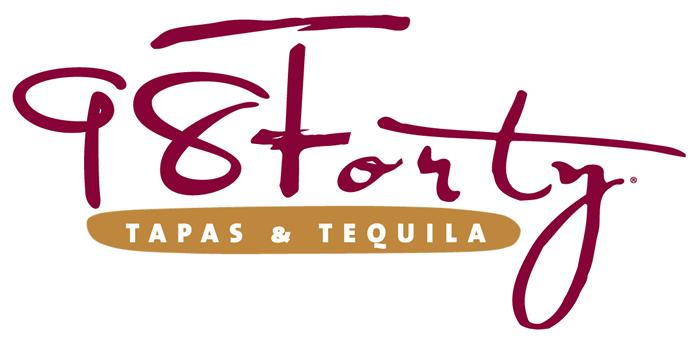 98Forty Tapas & Tequila Logo (Color)
