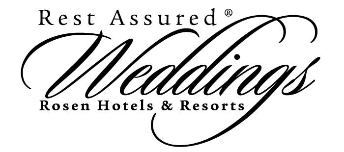 Rosen Hotels & Resorts Rest Assured Weddings