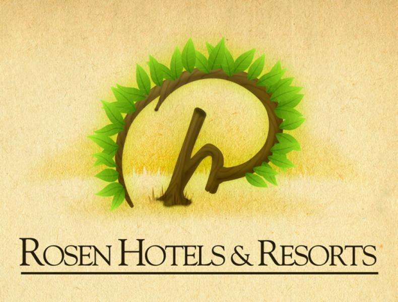 Rosen Hotels & Resorts Green Logo