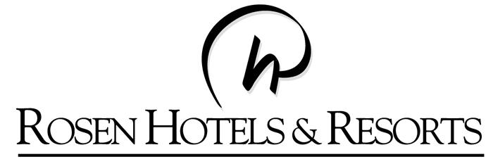 Rosen Hotels & Resorts logo (Black)