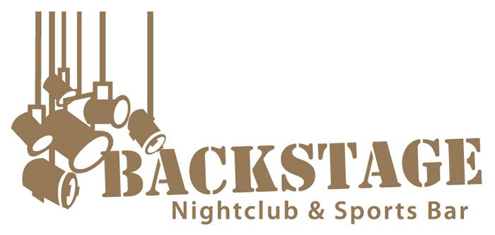 Backstage Nightclub & Sports Bar Logo (Color)