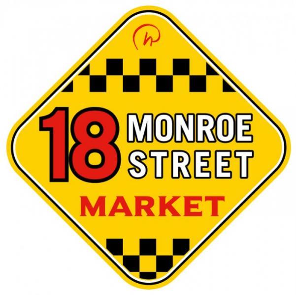 18 Logo Monroe Street Market (Couleur)