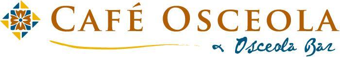 咖啡廳奧西奧拉和奧西奧拉酒吧標誌(彩色)