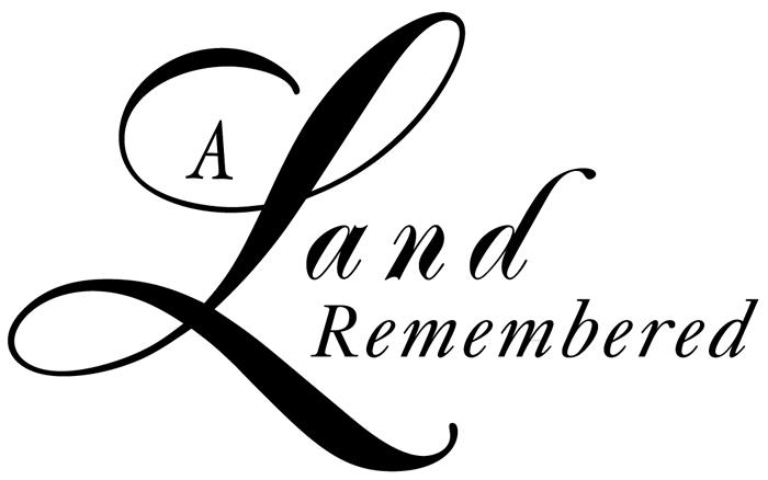 A Land Remembered Logo (Black)