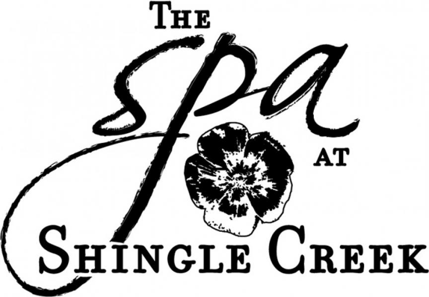 Le Spa de Shingle Creek Logo (noir)