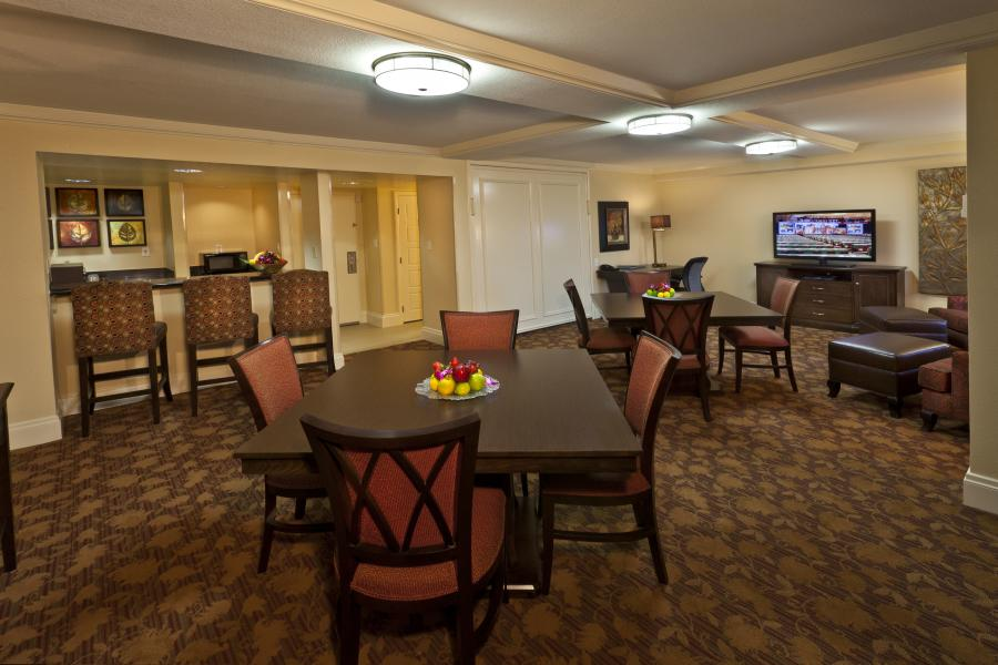 Hospitality Suite - 2 Tables of 4