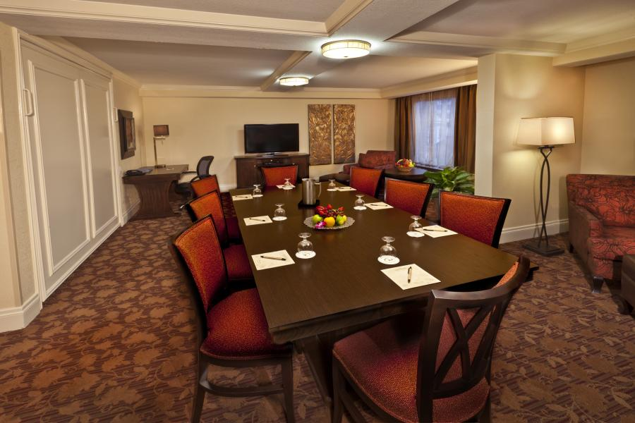 Hospitality Suite - Conference Set-Up