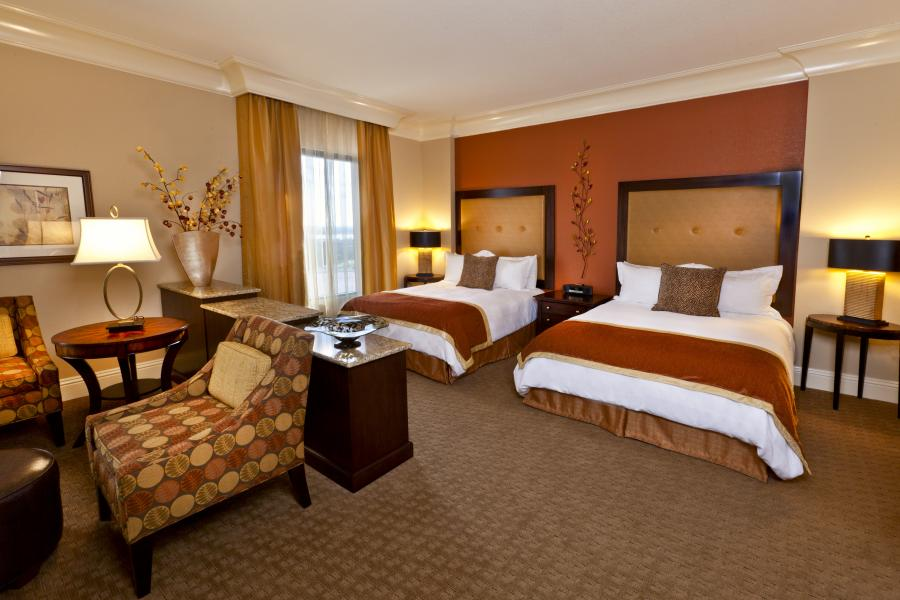 Presidential Suite, Adjoining Double-Double Guestroom