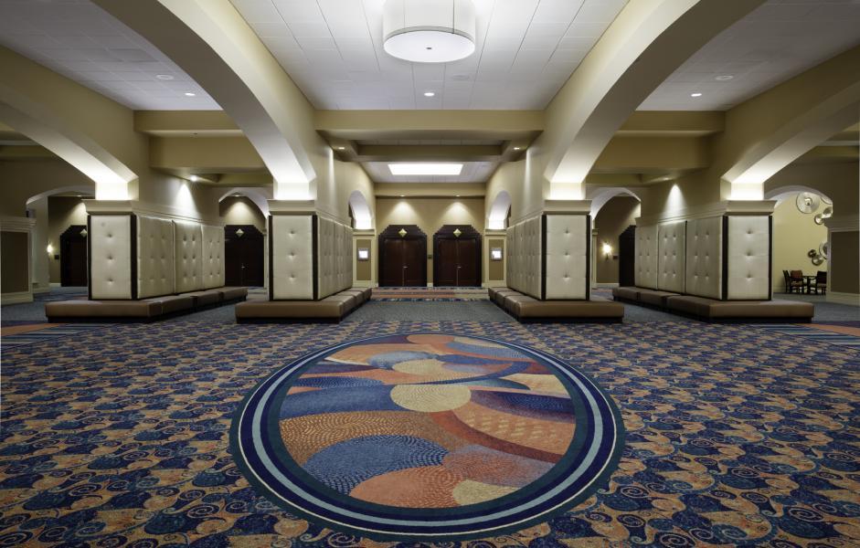 Junior Ballroom Foyer Facing Executive Ballroom Foyer