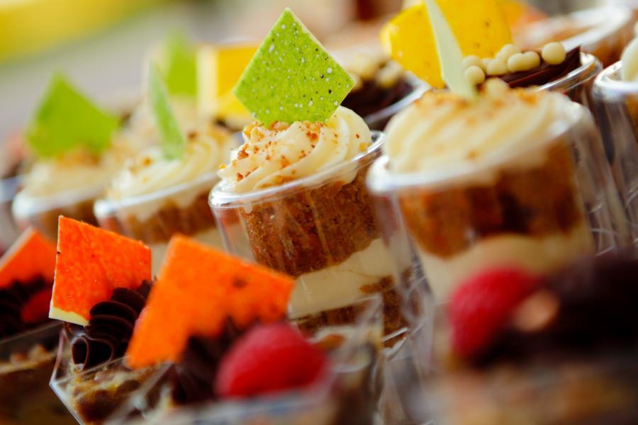 Fall Themed Wedding Dessert