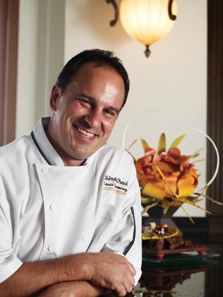 Executivo Pastry Chef David Ramirez