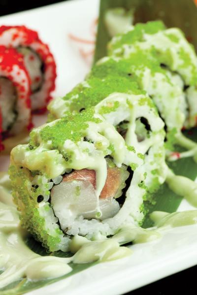 Banrai Sushi's Dynamite Roll.