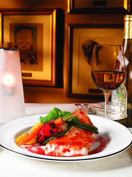 Red Fish and Wine
