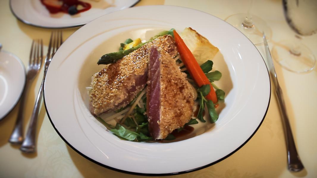 Jack's Place - Sesame Crusted Tuna