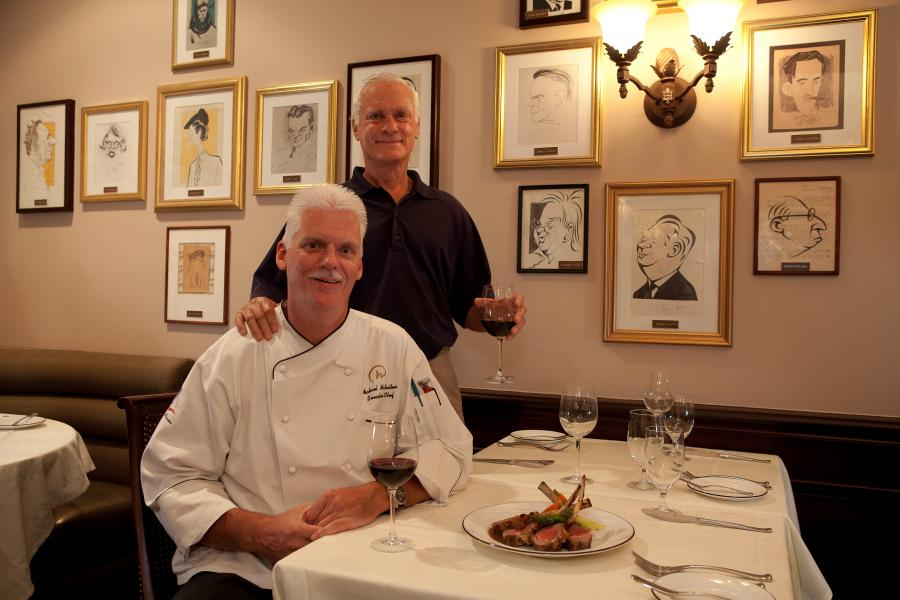 Harris Rosen and Chef Michael McMullen