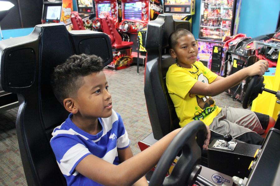 Video Game Arcade Room