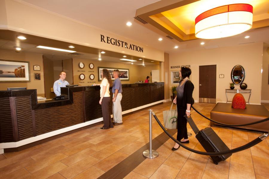 Lobby Registration Area