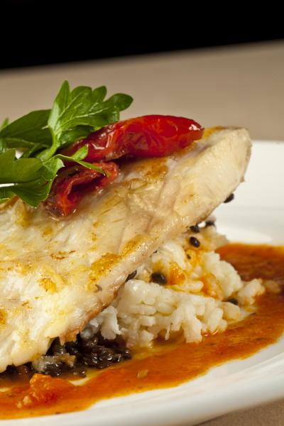 Pan-seared Snapper