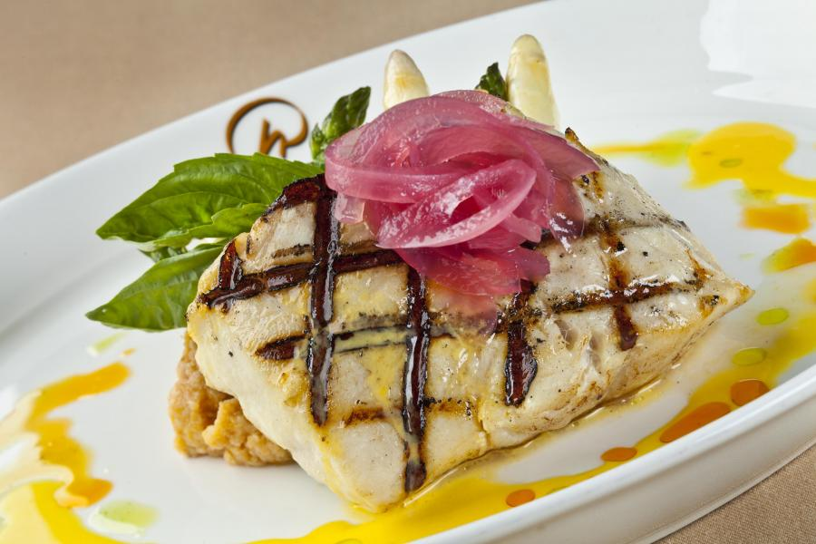 Broiled Florida Grouper