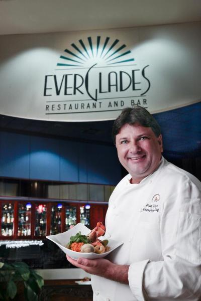 Chef Fred at Everglades Restaurant and Bar