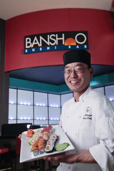 Chef Yoshi at Banshoo