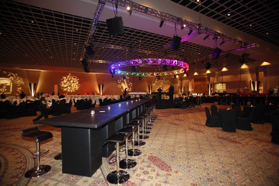 Event Set Up - Piano Bar