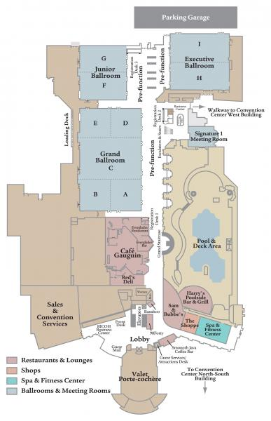 Rosen Centre Footprint