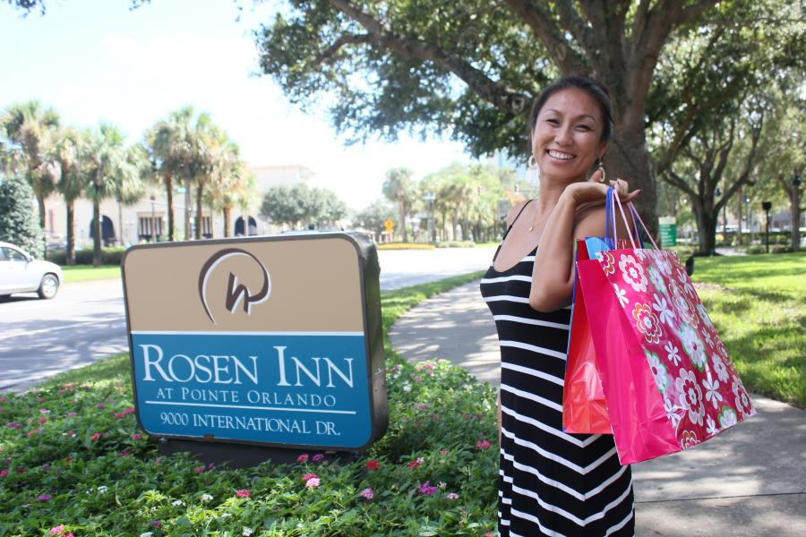 Rosen Inn at Pointe Orlando Sign