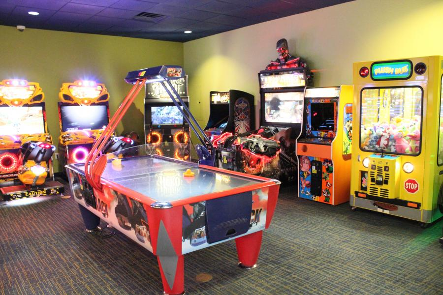 Video Arcade Game Room
