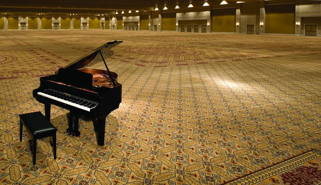 Gatlin Ballroom with Piano