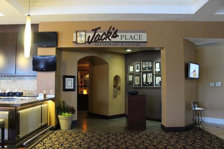 Entrance of Jack's Place