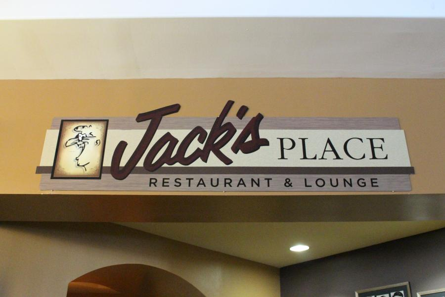 Sign Outside Jack's Place