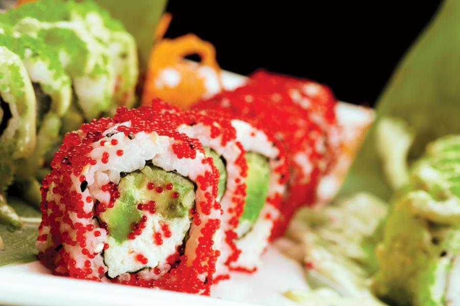 Banrai Sushi's Cucumber Roll.