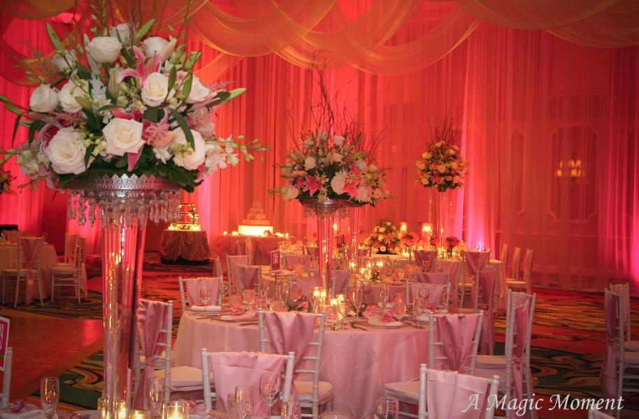 An elegant wedding on an affordable budget at Rosen Plaza.