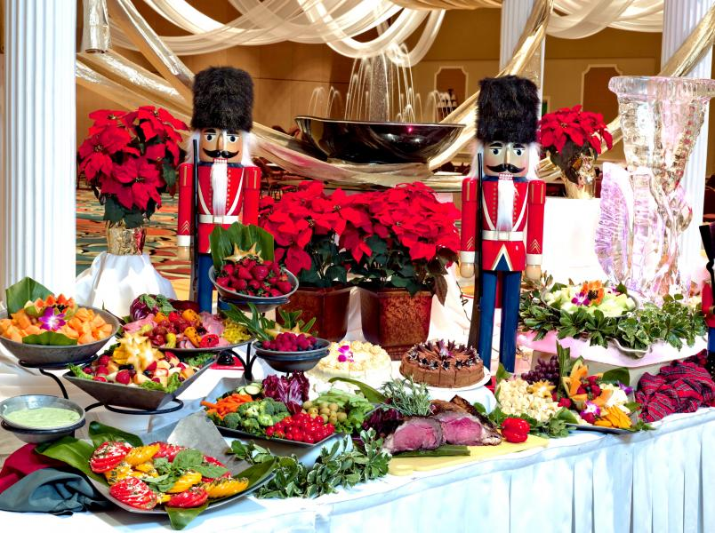 Rosen Plaza's Christmas Day Buffet is a local and guest favorite!