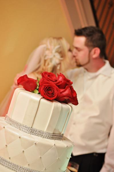 Wedding- Couple and Cake