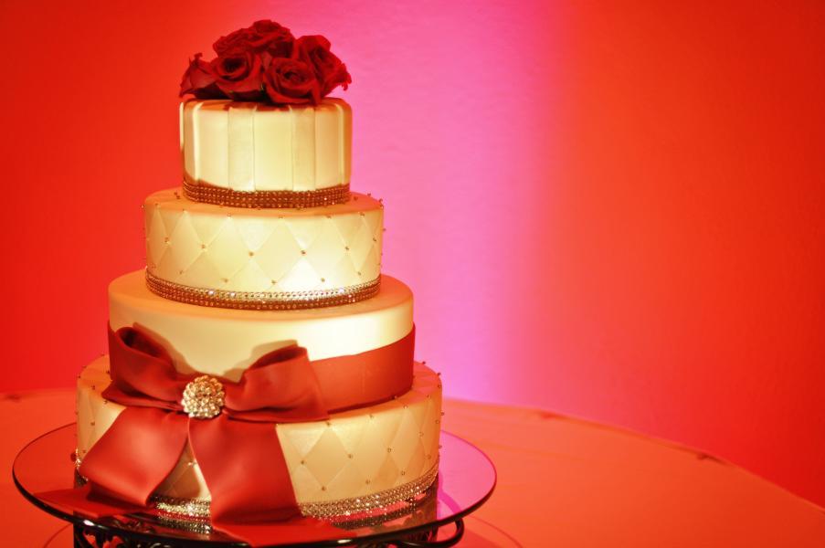 Bolo de noiva