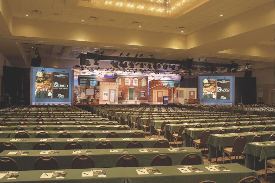 Rosen Plaza's 26,000 sq. ft. Grand Ballroom.