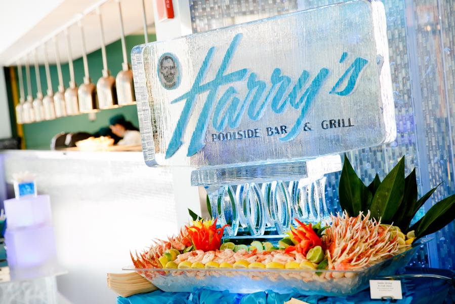 Harry's Poolside Bar and Grill Opening 8.19