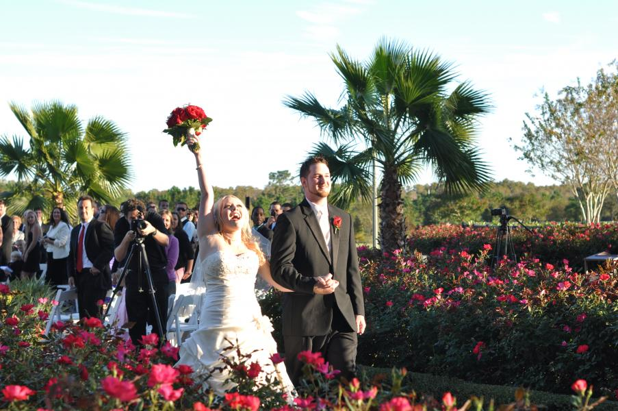 Wedding Ceremony- Bride and Groom
