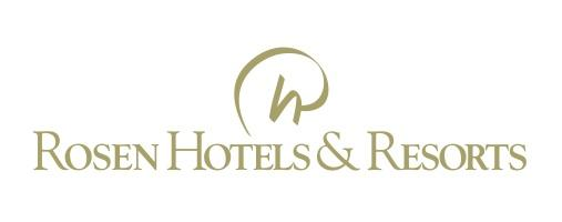 Rosen Hotels & Resorts Gold Logo