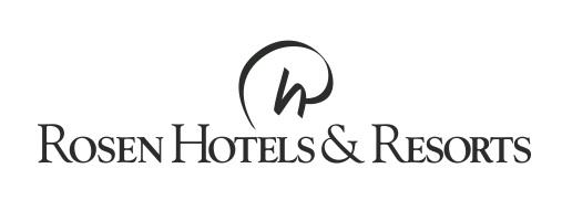Rosen Hotels & Resorts Black Logo