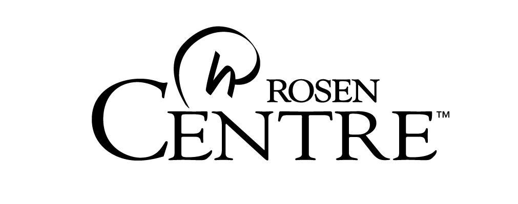 Rosen Centre Hotel Black Logo