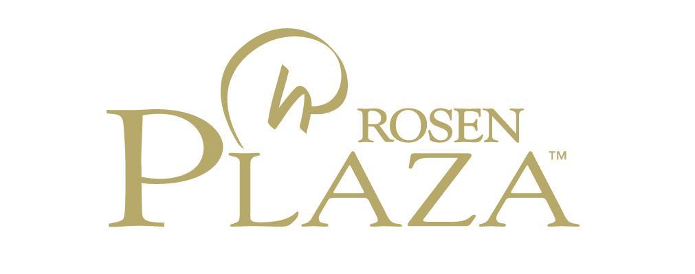 Rosen Plaza Hotel Gold Logo