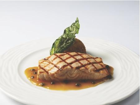 Cala Bella's Salmon Agrodolce.