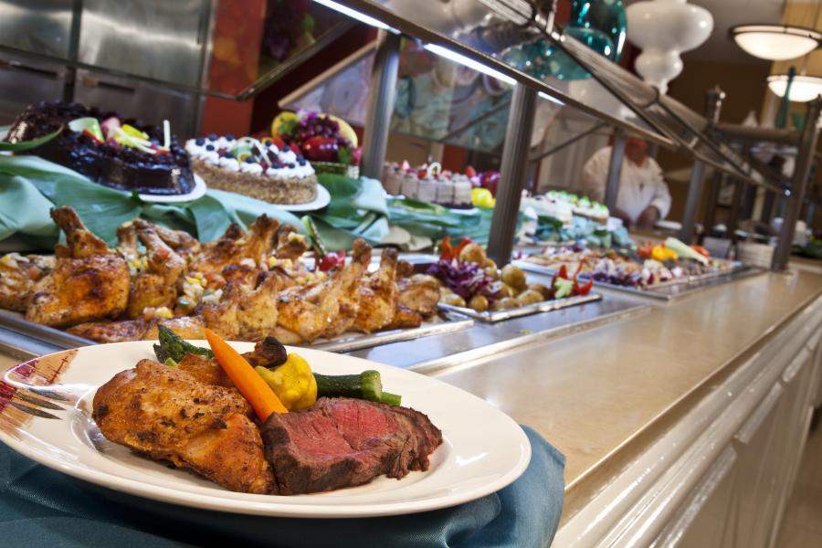 Cafe Matisse Buffet