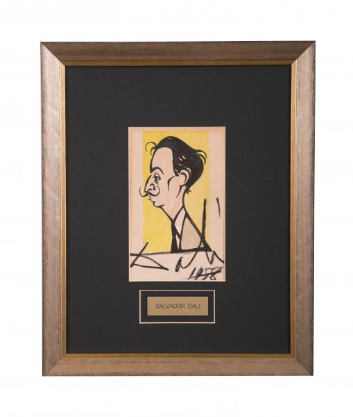 Caricature- Salvador Dali