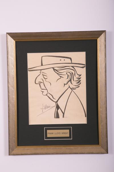 Caricature- Frank Lloyd Wright