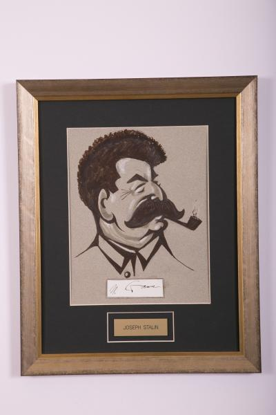 Caricature- Joseph Stalin